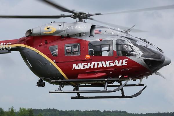Nightingale Regional Air Ambulance 2010 Eurocopter EC-145, Norfolk, 17May18