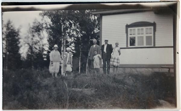 Georg Hayens fotoalbum från Tenala på 1920-talet