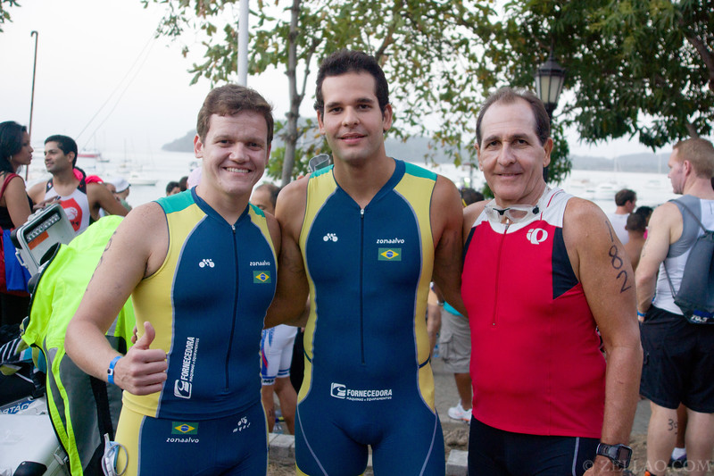 Joao Fiuza(s) & Marcelo Rangel from Brazil at Ironman 70.3, Panama 2013