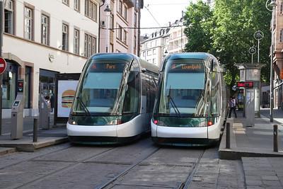 Trams of Strasbourg