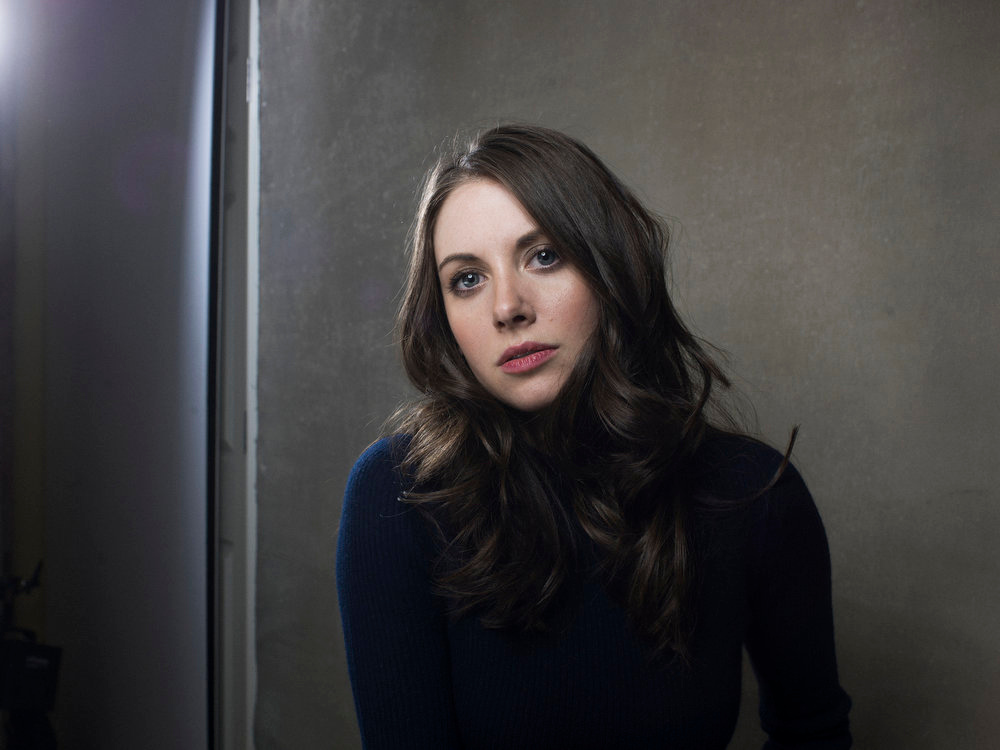 Description of . Alison Brie from the film