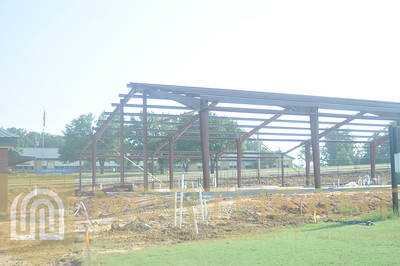 2013-06-20 FB Football Fieldhouse Construction