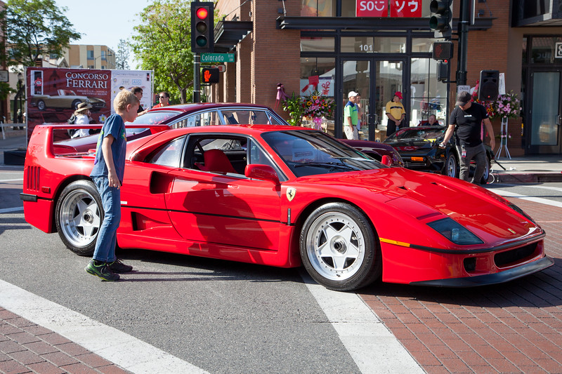 A boy can dream - Ferrari F40