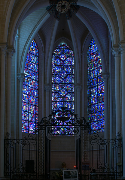 Chartres Cathedral Chapel Windows