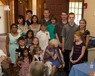Grandma's 105th Birthday