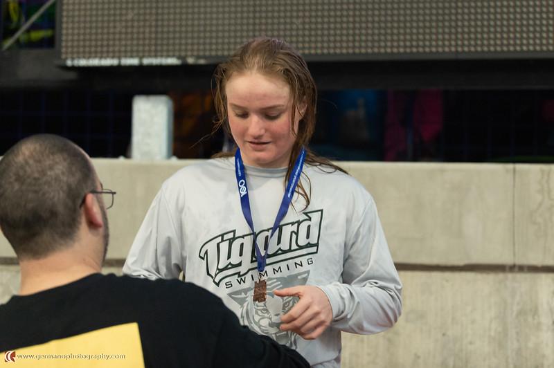 Girls 100 Fly State Championships Kaitlyn Wornath