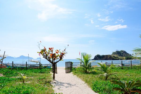 Nacpan-Calitang Twin Beach