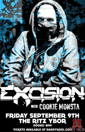 Excision & Cookie Monsta September 9, 2011