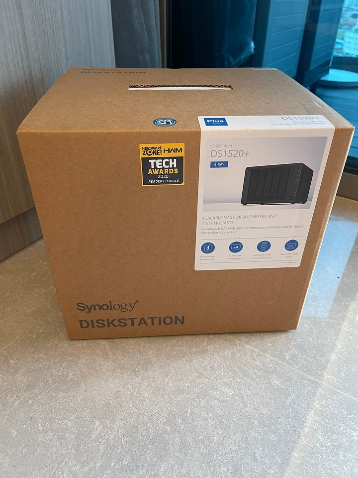 Synology DiskStation DS1520+ from Shopee