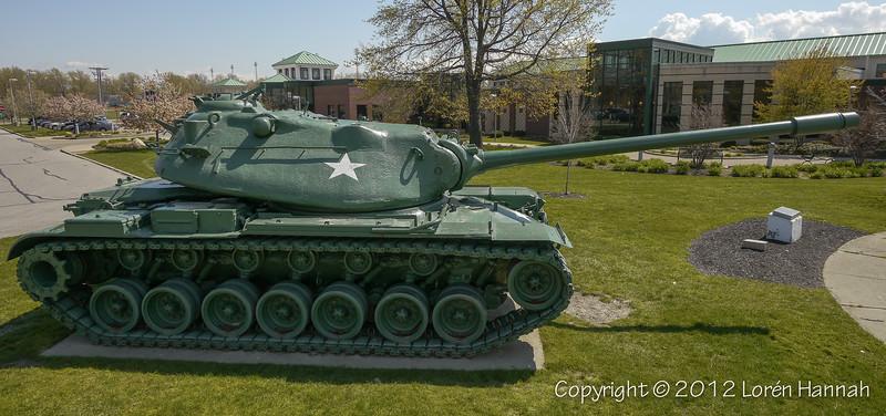 Veterans Monument - Euclid, OH - M103A2
