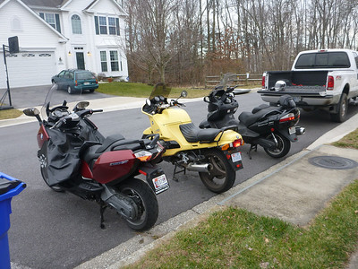 2013 - 01 - Bikes in a Row