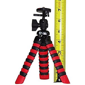 camera tripod with measuring tape