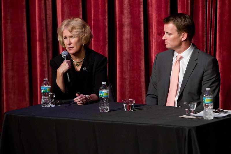 "6th Annual Festival of the Arts Boca presents ""University Presidents' Panel moderated by Dr. Susan Resneck Pierce with President MJ Saunders of Florida Atlantic University and President Kevin Ross of Lynn University."
