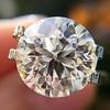 3.86ct Old European Cut Diamond GIA K VS2 49