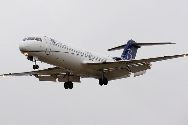 F-GNLG - Fokker 100
