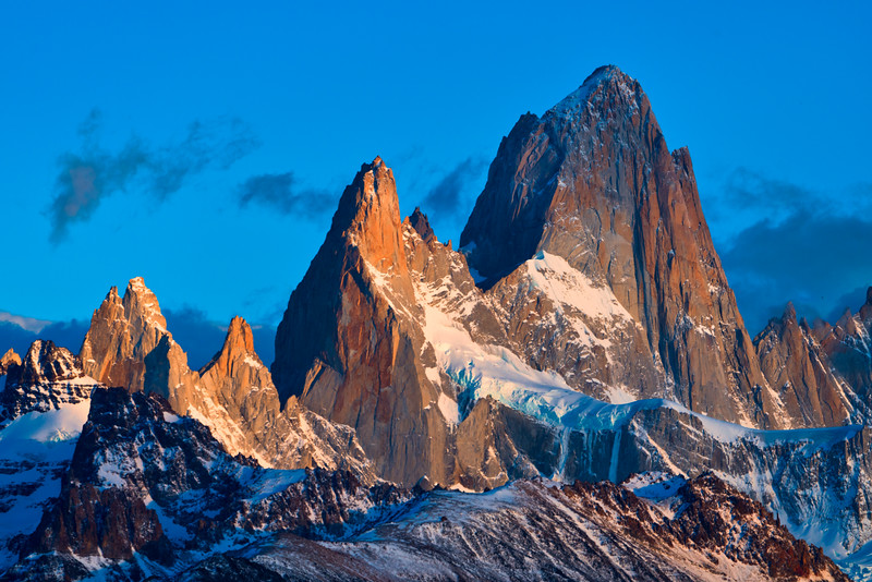 Sunrise Light on Mt Fitzroy