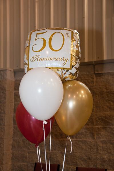 Bill and Eva 50th Wedding Anniversary