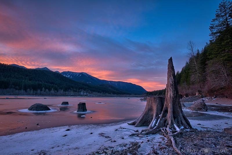 Sunrise - Rattlesnake Lake, Washington