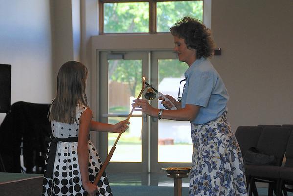 August 29, 2010 Worship Service