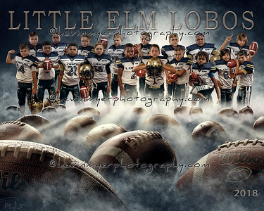 Little Elm Lobos Team Picture Proofing Gallery