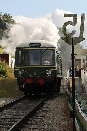 Peak District 2011: Day 2 - Peak Rail, Ecclesbourne Valley Railway - 18 September 2011