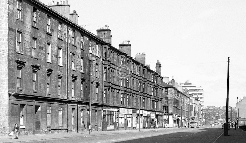 Crown St, west side, north of Cumberland St. 