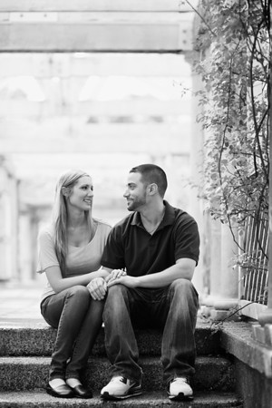 Melissa + Brian's Engagement :: Brooklyn Botanic Garden :: Brooklyn, NY