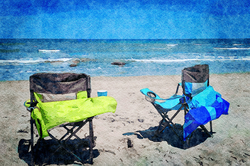 April 16 - Just another day at the beach.jpg