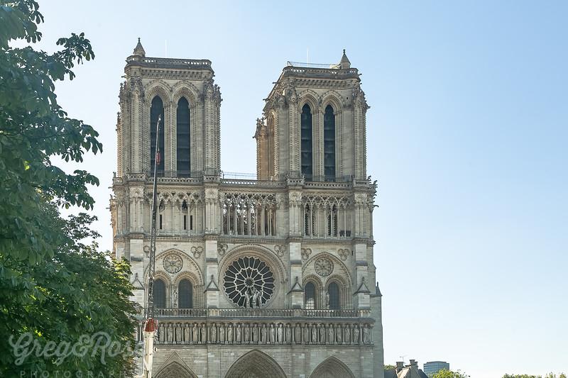 Notre Dame Front Facade