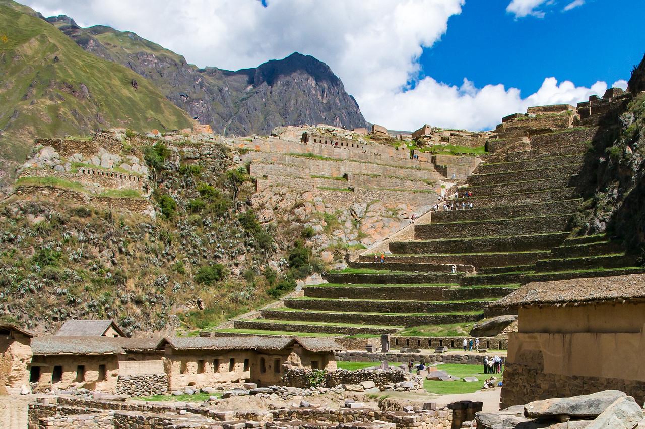 Ollyantaytambo ruins, Sacred Valley.