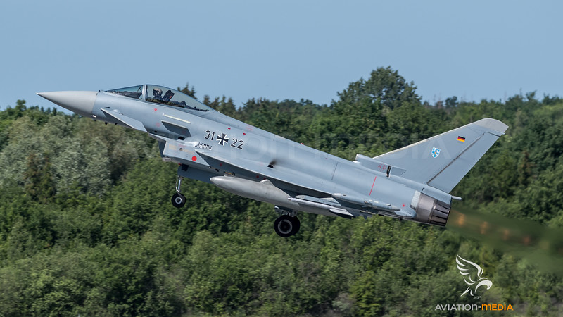 German Air Force TLG 73 / Eurofighter Typhoon / 31+22