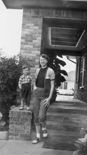 Jerome Curry and Maria Jacob Smock November 1951 1102 Omar Houston, Texas