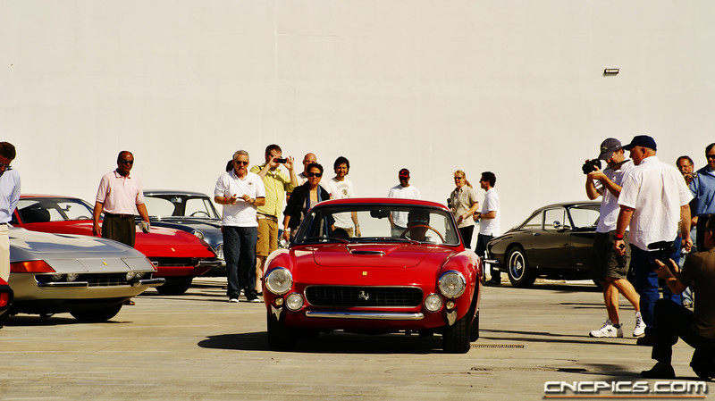 Ferrari Cruise-in at The Petersen Automotive Museum