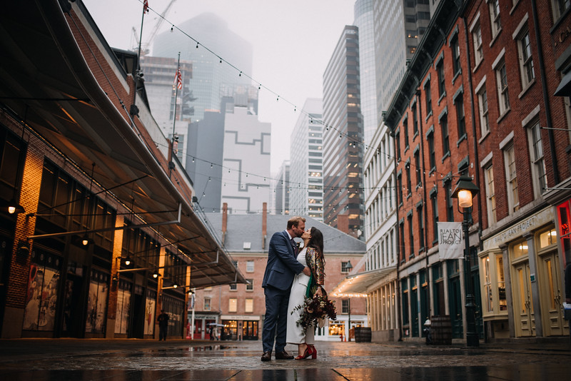 Clara & Grant - Elopement in New York City