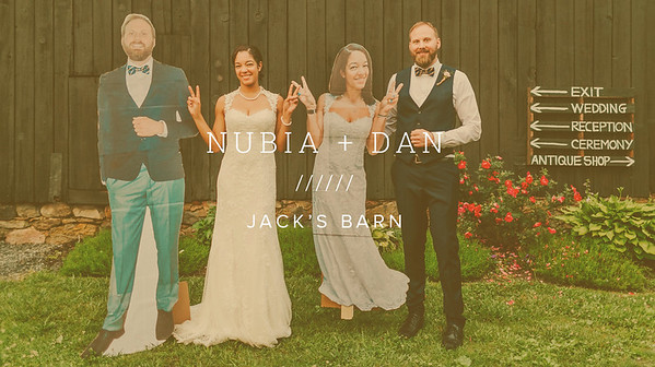NUBIA + DAN ////// JACK'S BARN