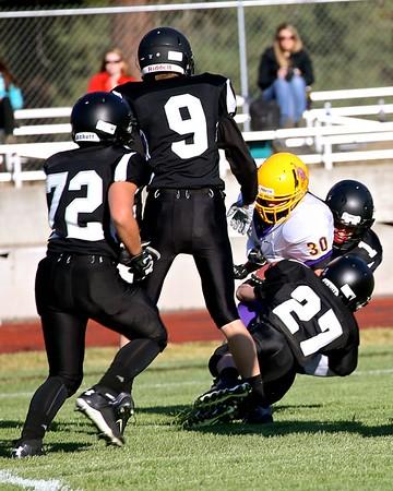 Outlaw JV Football vs Burns 9-03-15