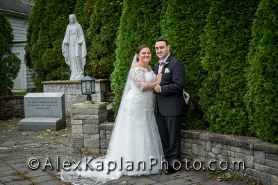 Wedding at St. John Vianney Roman Catholic Church, Deptford Township, NJ by Alex Kaplan Photo Video Photobooth