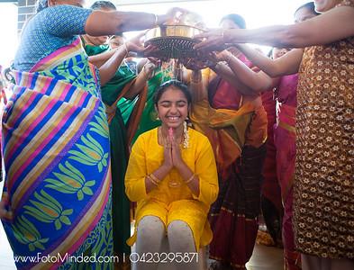 Aditri Half Saree Ceremony