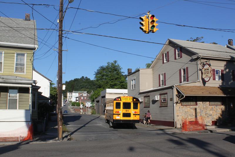 Spruce Street to be Closed, Tamaqua, 8-29-2011 (8).JPG