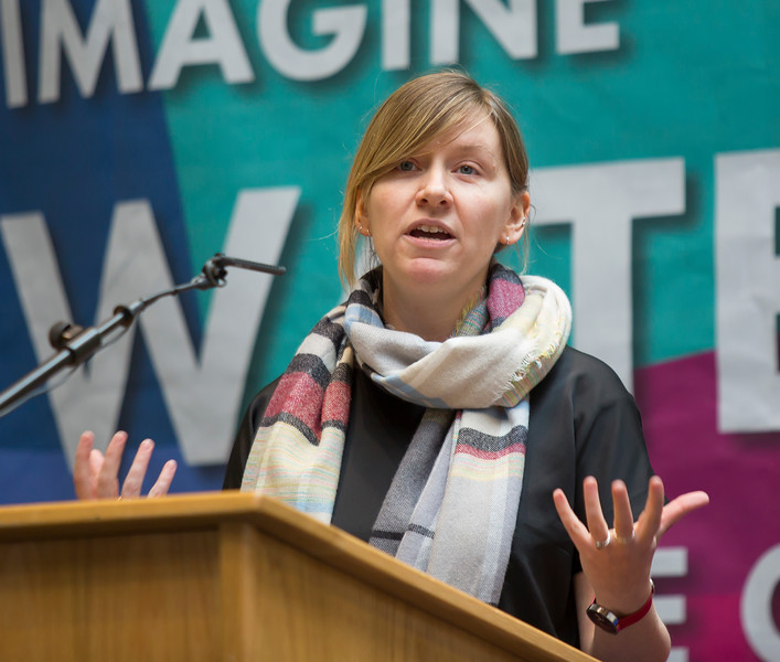 8/3/2018Waterford Institute of Technology celebrate international women's day.Be brave in the choices you make – secondary school students hear on International Women's Day. Kerrie Power HEAnet CLG speaker.Photo;Mary Browne
