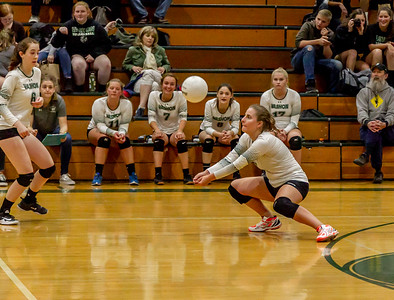 Set two: Vashon Island High School Varsity Volleyball v Chimacum 09/20/2018