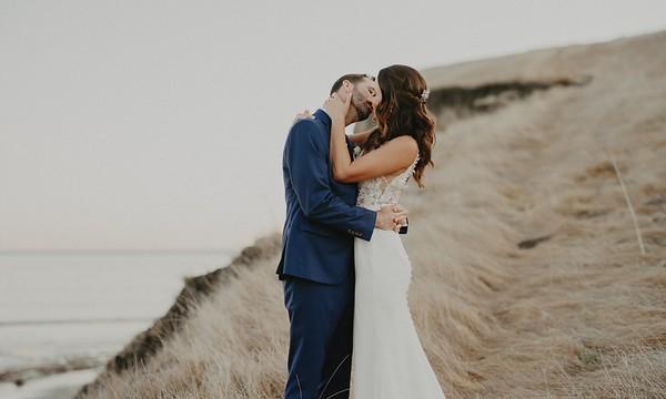 Jenn & Trevor. Married.