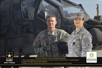 US Army CC Tour - WCC (Green Screen Party Portraits)