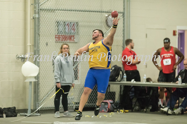 Worcester State indoor track & field 12/2/2017
