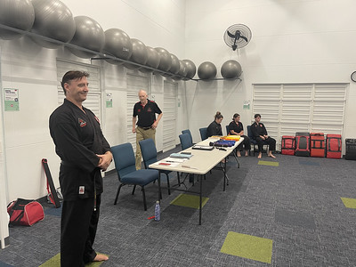 Combat Self Defence Noosa Grade Belt Assessments March 2021