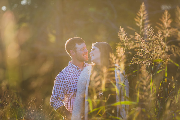 Ashley & Johnny's Fall Engagement Photos At Fair Weather Farms