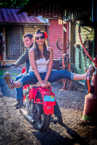Motorcycles, Models and Riders