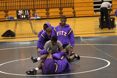 Tift Co. Wrestling Senior Night 2012
