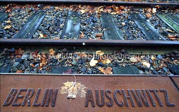 GERMANY, Berlin. Grunewald Train Station Holocaust Memorial. (2004)