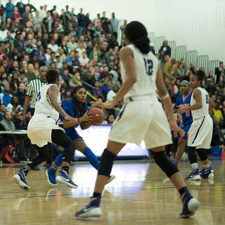 Girls Varsity Basketball vs. Garfield